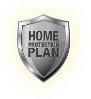 Silver Home Protection Plan shield.